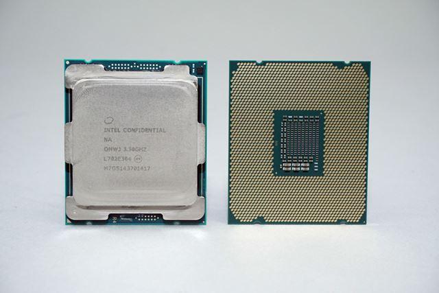 Core Xシリーズでは、LGA2066パッケージが新たに採用されている