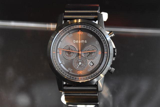 「Chronograph Premium Black BD beams edition」(型名:WN-WC03B-H)。価格は、43,070円