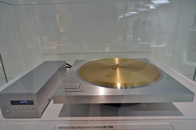 アナログターンテーブル「SP-10R」を開発発表