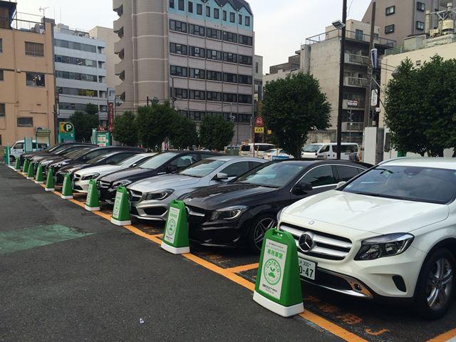 首都圏を中心に1388か所のステーションを展開。うち約1000か所が東京23区に集中している