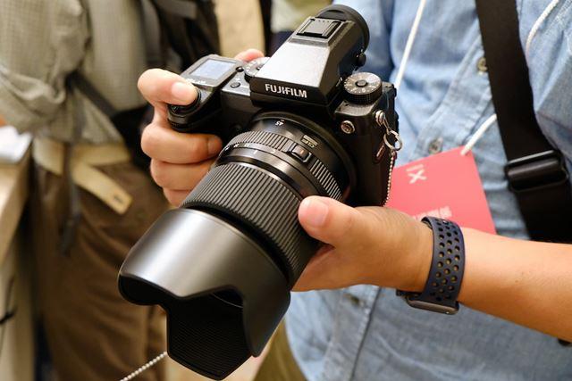 GFレンズには広角レンズGF45mmF2.8 R WRが追加された