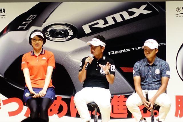 「若い選手はどんどん飛ばしている。48歳になったが、自分も飛距離を伸ばしたかった」と藤田選手