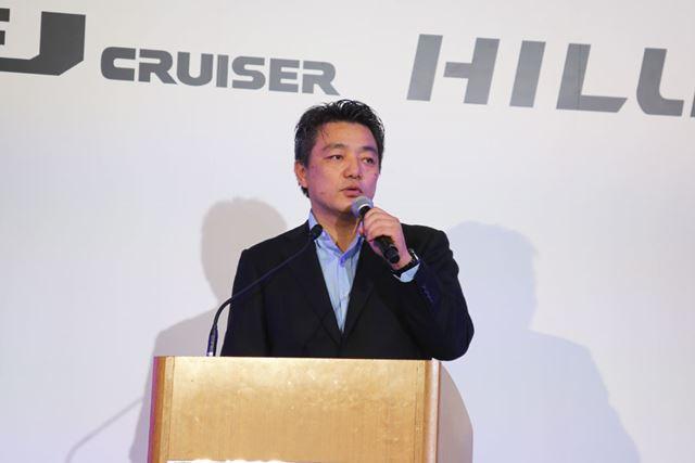 トヨタ自動車 CV Company CV製品企画 ZB チーフエンジニアの前田 昌彦氏