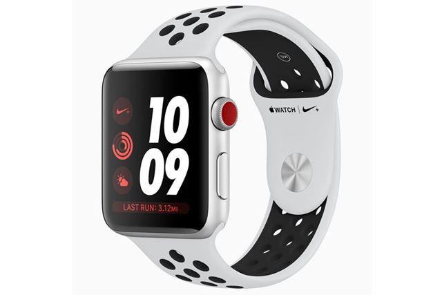 スポーツ用品大手のナイキとのコラボモデル「Apple Watch Nike+ 」