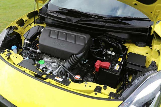 スズキ 新型スイフトスポーツの「1.4L直噴ターボ ブースタージェットエンジン(K14C型)」