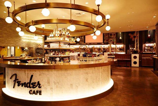 渋谷QFRONT 7Fに期間限定オープンしたFENDER CAFE