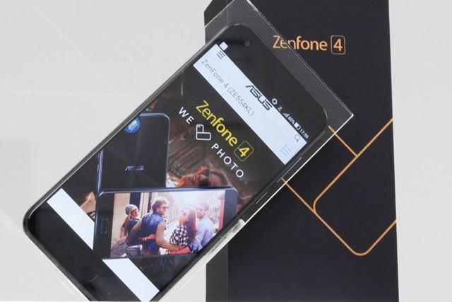 「ZenFone 4」はSIMフリースマホの本命になるのか?