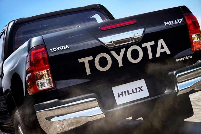 トヨタ「ハイラックス」(画像は新型)