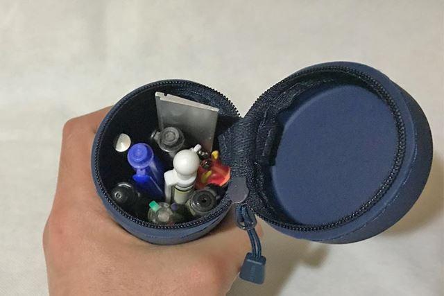 通常のペンであれば15本ほど入ります