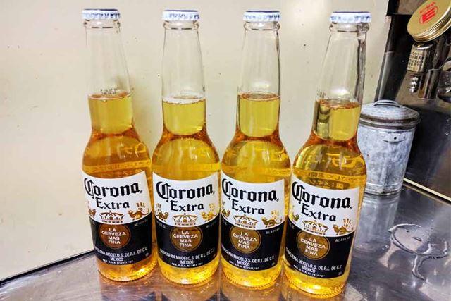 メキシコ産のCorona Beer(コロナビール)
