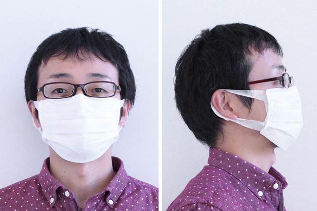 超快適マスク着用
