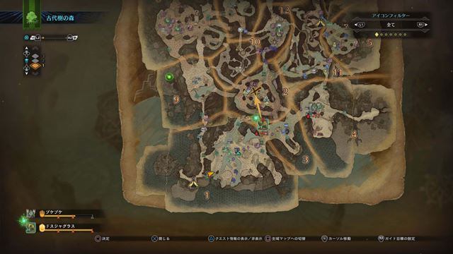 マップは広大で複雑。探索するのを想像するだけでワクワクする