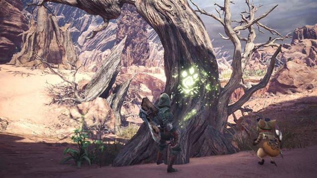 キラキラと光る導蟲は今作から導入されたシステム