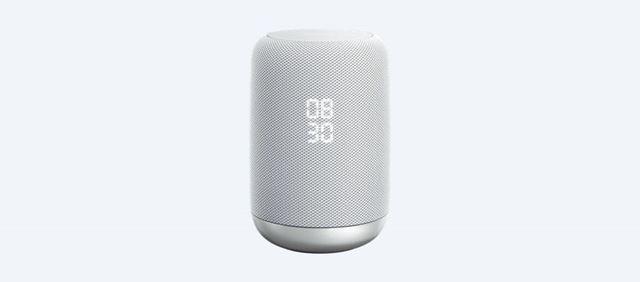 こちらはソニーのGoogle Assistant対応スマートスピーカー「LF-S50G」