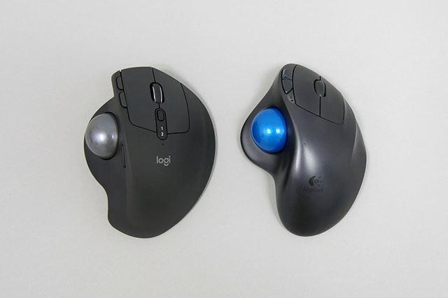左が「MX ERGO」、右が「M570」