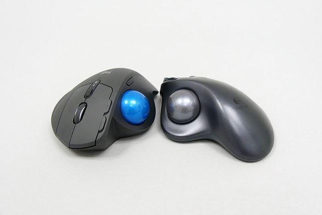 ボールのサイズは「M570」と同じ。そのため入れ替えることもできる