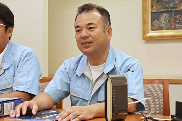 NECプラットフォームズ アクセスデバイス事業部カスタマーサポートセンター主任の松下義弘さん