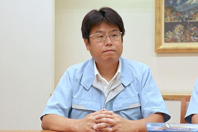 NECプラットフォームズ アクセスデバイス事業部 量販HGW事業グループ マネージャーの大石昌城さん
