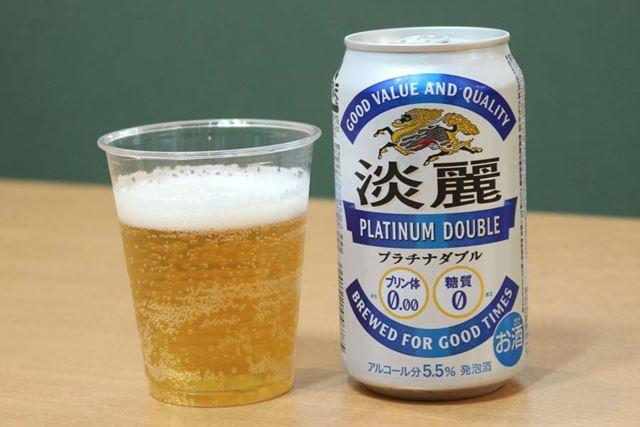 ジャンル:発泡酒/糖質:0g(100ml当たり)/カロリー:31kcal(100ml当たり)/アルコール度数:5.5%