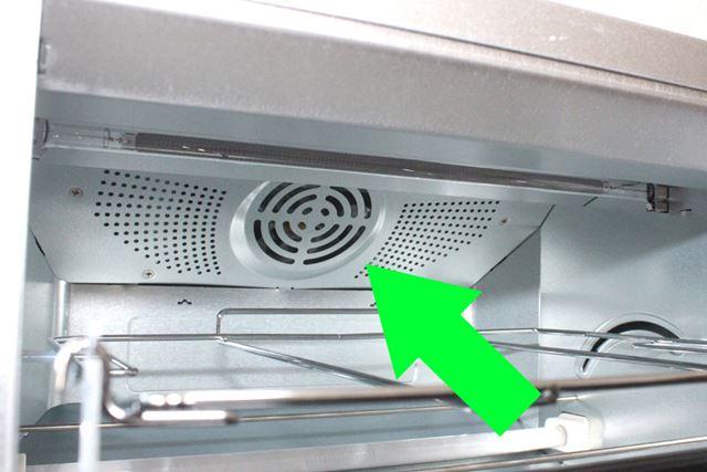 庫内にファンを搭載する「コンベクション型」のオーブントースターも増えてきました