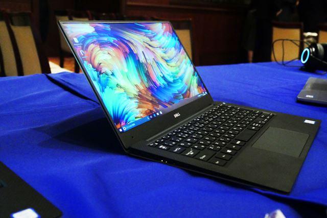 13.3型液晶を搭載するノートPCとしては最小クラスのサイズ