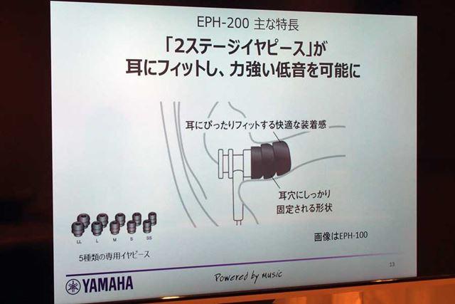 いろいろな耳の穴の大きさに対応できるよう、イヤーピースは標準で5つのサイズが付属する