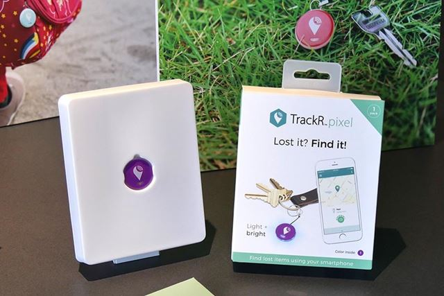 探し物を簡単に見つけ出せるBluetoothトラッカー「TrackR pixel」