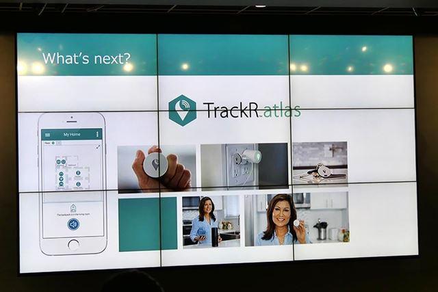 来年発売予定という計画中の新製品「TrackR atlas」についても概要が明かされた