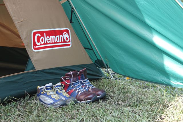 前室が装備されていれば、靴を置いておいても濡れる心配なし!