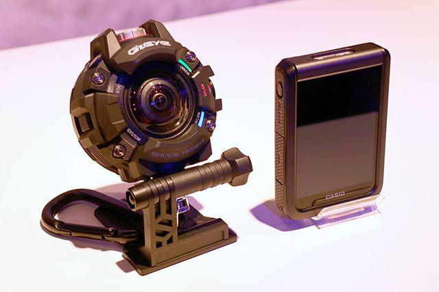 スタンド付カラビナ「GEA-2」と液晶コントローラー「GEC-10」