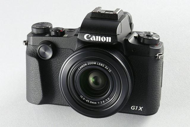 PowerShot G シリーズの新しいフラッグシップモデルPowerShot G1 X Mark III