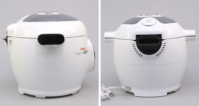 新しくなったクックフォーミー エクスプレス。本体にディスプレイとボタンを備える自動調理鍋です