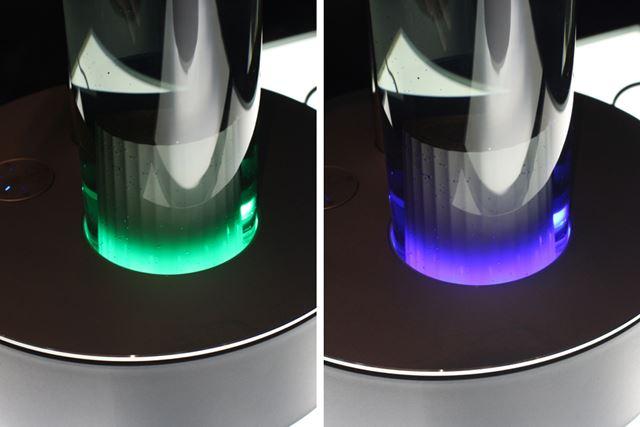 運転モードをオートにしていなくても、LEDの色で湿度の状況をお知らせしてくれます