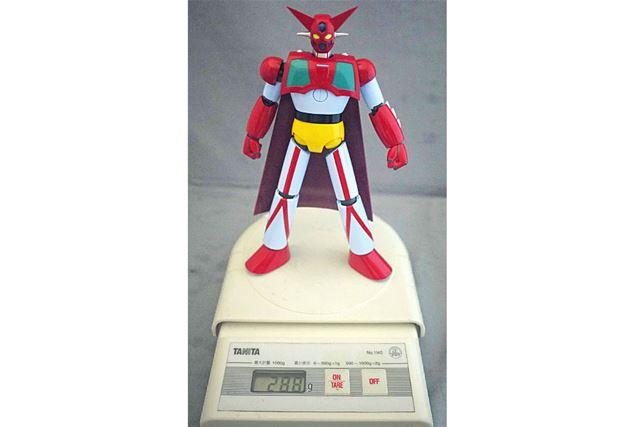 重量は288g。ずっしりとした重みを堪能することができます