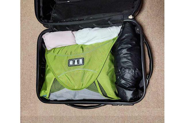 スーツケースに収納の図