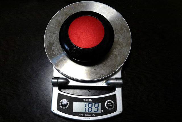 充電式カイロ:189g