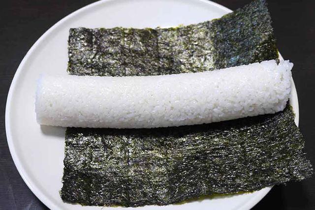 ものすごくキレイな円柱状の酢飯が…出たーッ!