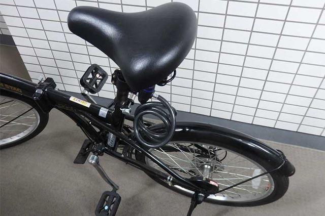 小回りも利き、とても便利な折り畳み自転車