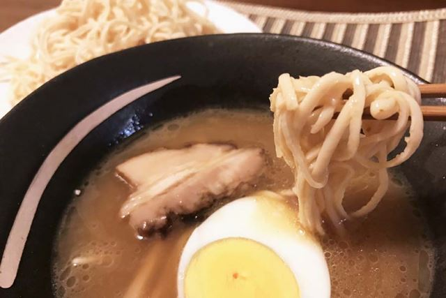 今回食べた中で一番おいしかったつけ麺風