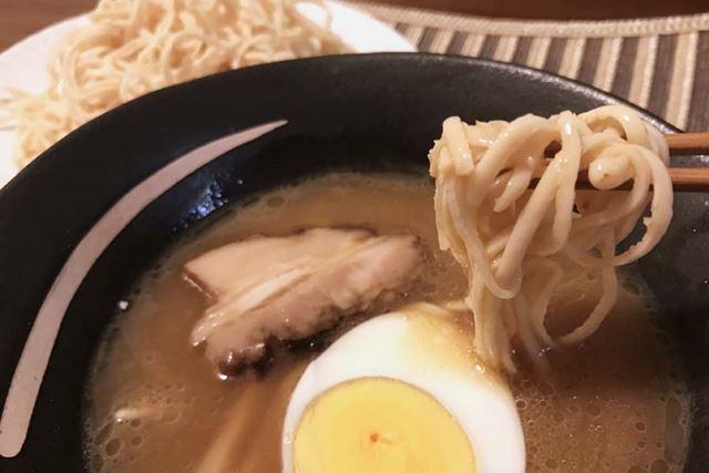 個人的に、つけ麺は普通の麺より「ソイドル」のほうが好き