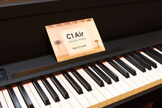 コルグの電子ピアノとして、久しぶりに「C」の文字が型番に付いた