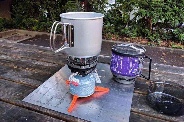 ゴトクを使えばほかの調理器具を使うことができます