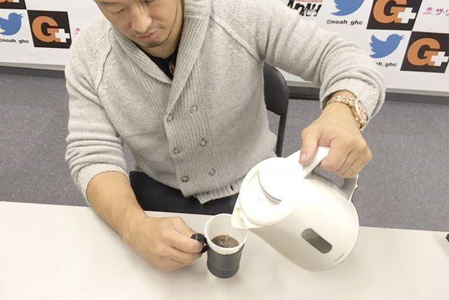こりゃ常に置いておけばインスタントコーヒーを簡単に作れるね!
