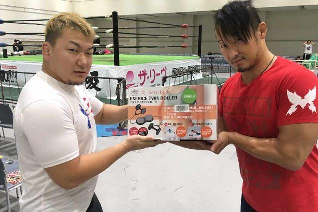 トレーニング大好き熊野選手! 今回もお願いします!