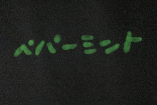 蓄光ペンで光る文字!!!