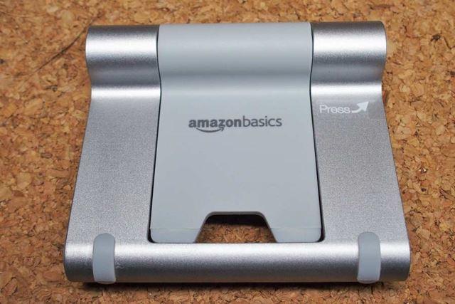 裏面はこんな感じです。Amazonベーシックのロゴが入っています