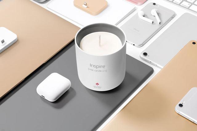 「Inspire [mac candle N°2]」を使うとクリエイティブになれるかも!?