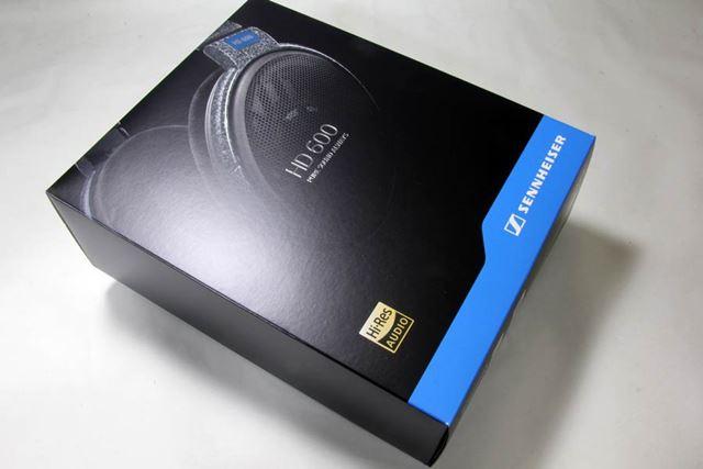 300台限定で復刻販売されたHD600のパッケージ
