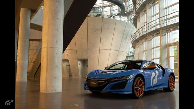 「リバリーエディター」で作成した自動車で写真を撮影することもできます