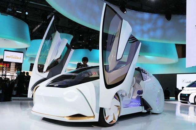 人工知能を搭載し、人を理解するトヨタ「Concept-愛i(コンセプト・アイ)」